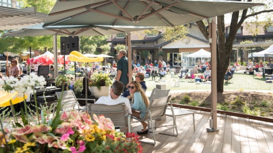 Market Street - The Woodlands Placemaking