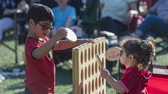 Market Street - The Woodlands Children Playing