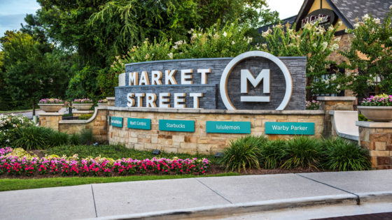 Market Street - The Woodlands Splash Pad